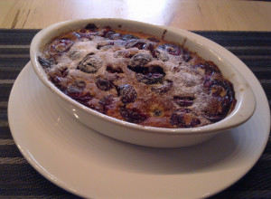 Cherry time, part 2 – clafoutis